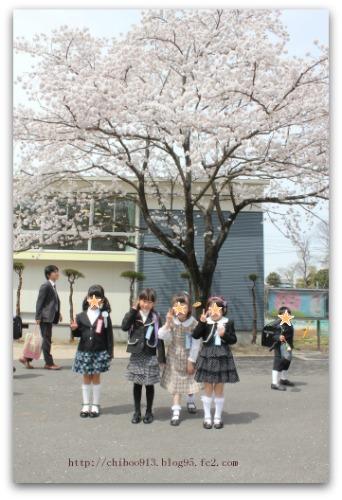 入学式4人
