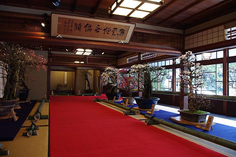 慶雲館の大広間