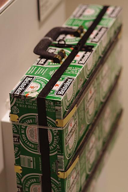 ビール箱のアタッシュケース