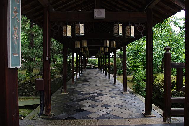 万福寺回廊