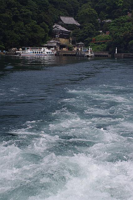 色濃い琵琶湖
