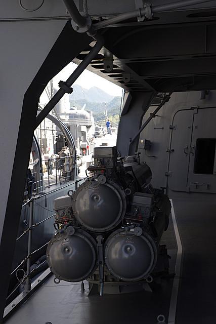 魚雷発射装置・あたご