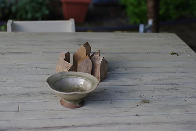 作りかけの木片