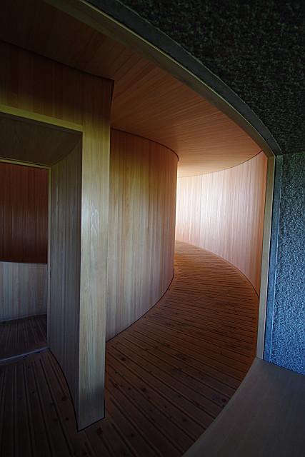 六甲枝垂れの回廊