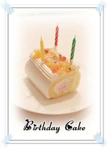 チワワ☆マル&エルモ-birthday cake