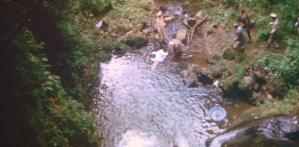 川で見つかった女の死体