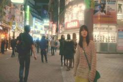 渋谷にの街に出た和希