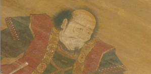 巻物に残っていた六兵衛の肖像絵