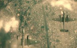 アメリカ空軍に爆撃される東京
