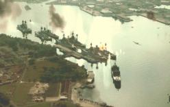 真珠湾を攻撃開始