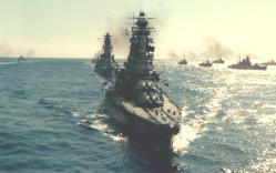 進行している戦艦・長門