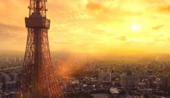 東京タワーから見る三丁目の夕日