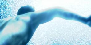光が照らす向こうに泳いでいるシリウス