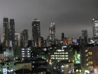 新宿ビル夜景