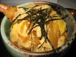 海老カツ丼 ミニサイズ
