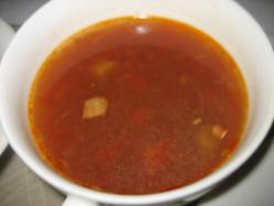 スープもついてます