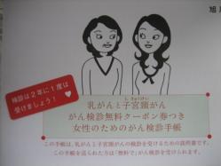 女性のためのがん検診手帳