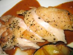 若鶏のグリルと夏野菜添え(デザート&ドリンク付)