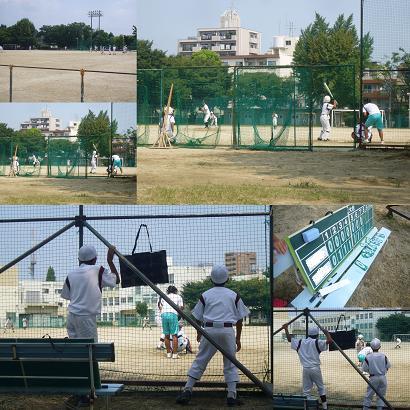 野球部練習試合