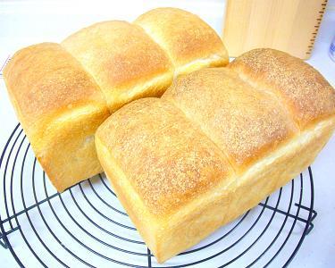 白神こだま酵母の山食パン