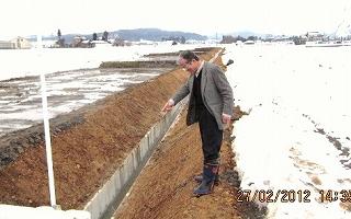 東排水工事検査