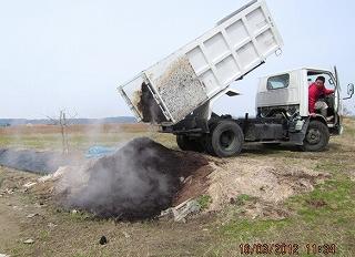 堆肥運搬・採用