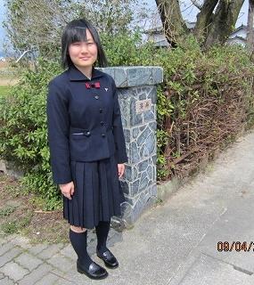 彩乃高校入学