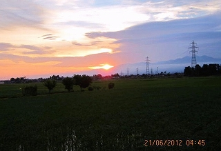 夏至・日の出