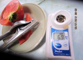 トマトの糖度