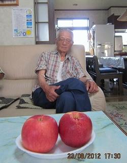 村山さんのりんご