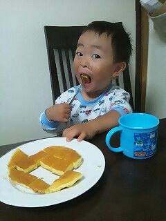 啓君の朝食