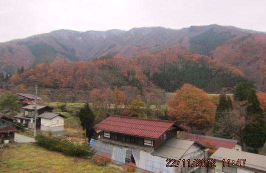 飛騨の山並・3(雪あり)