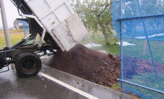 良質の牛糞籾殻堆肥