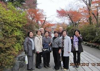 石山寺の参道