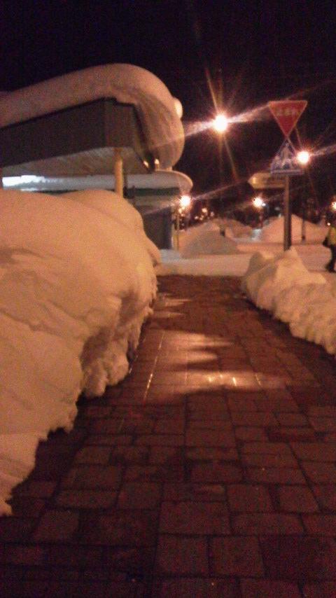 雪の岩見沢0