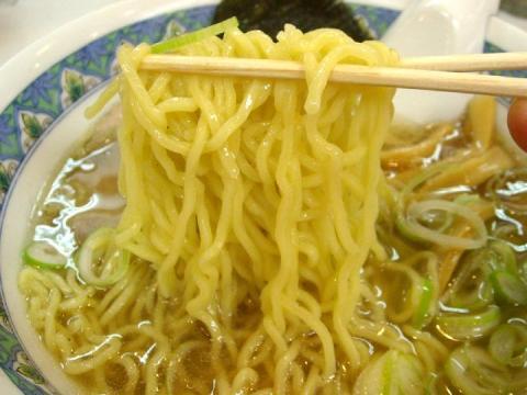 めん丸曳舟店・H23・3 ラーメン 麺