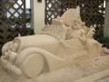 シェラトン・ワイキキ 砂のサンタ像-1411-1