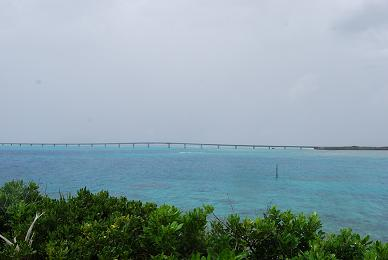 池間大橋 from 西平安名崎♪