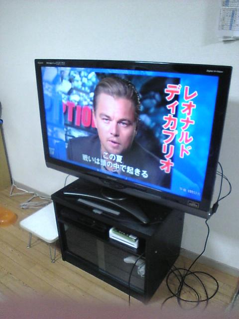 テレビ購入ー♪