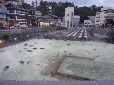 草津温泉湯畑1