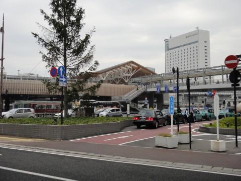 岡山駅西口