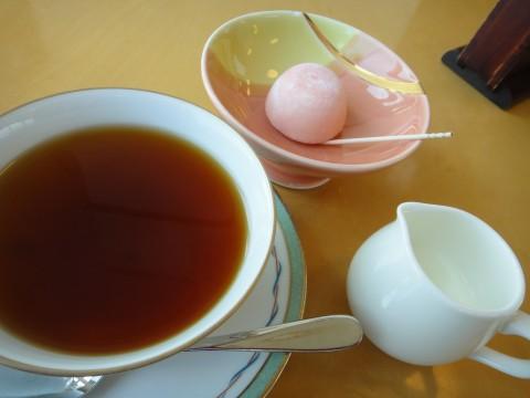 ご褒美お茶、デザート