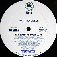 PattiLabelle-Joyブログ