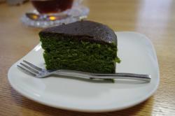 抹茶のバターケーキ