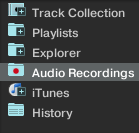 TRAKTOR Pro - Audio Recordings