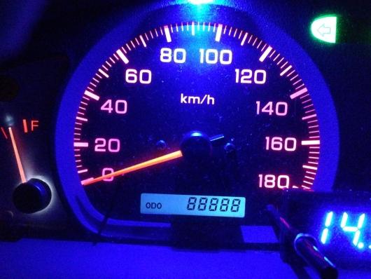 キリ番 8888km
