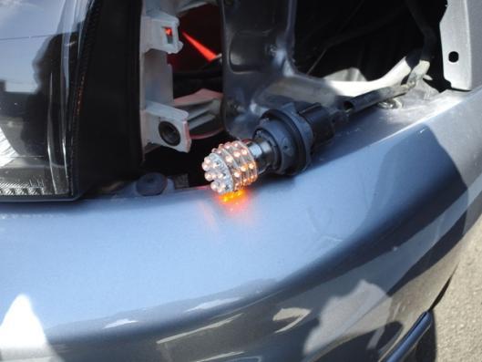 4月12日 CN9A フロント LED