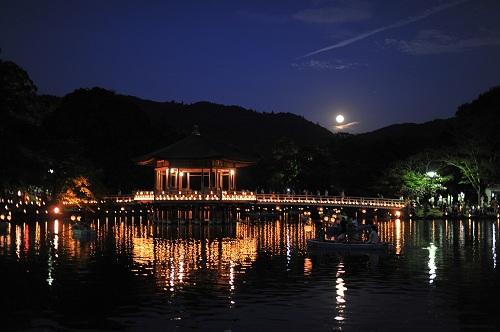 奈良 お盆 燈火会
