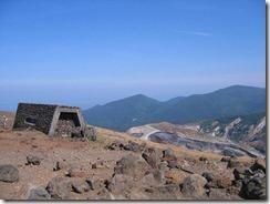 蔵王山小屋跡