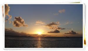沖縄1日目サンセット